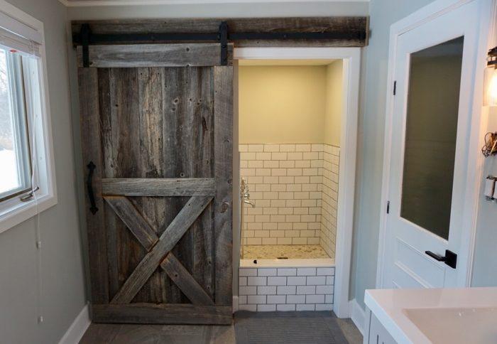 Rustic Senator Style Barn Door